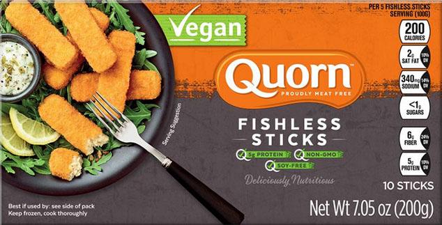 Quorn Vegan Fish