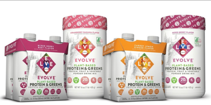 EVOLVE® Brand Launches New Protein & Greens Product Line