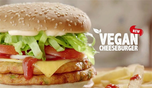 Vegan Cheeseburger