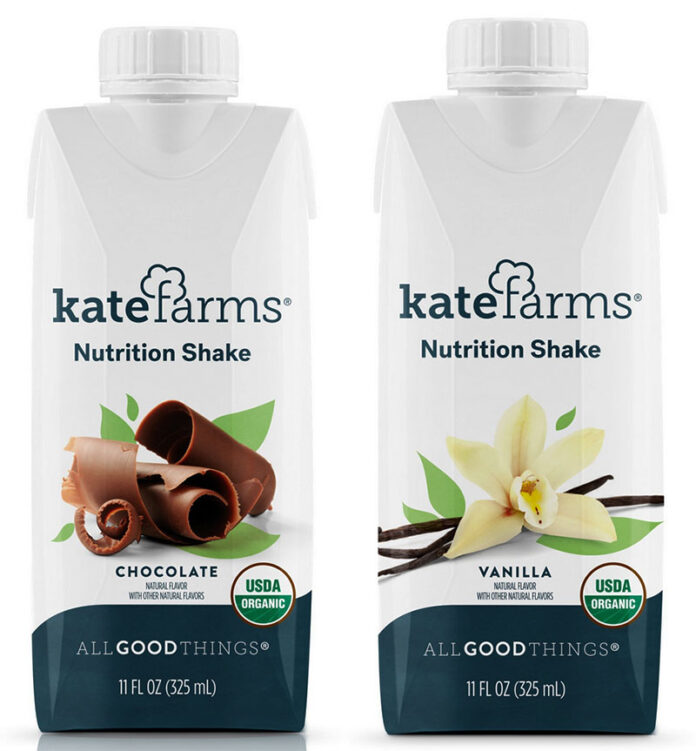 Kate Farms Nutrition Shake