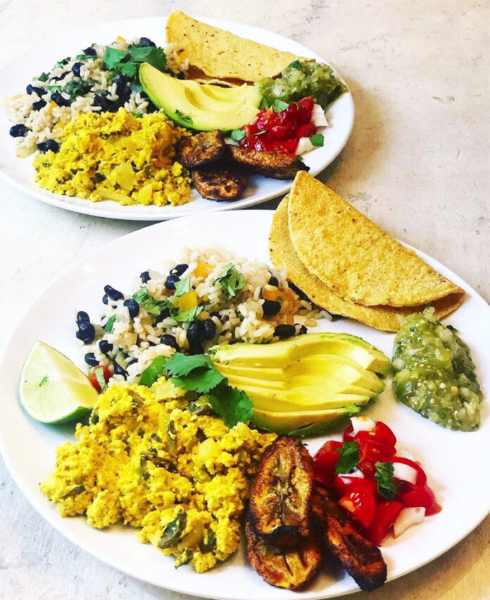 Costa Rican breakfast