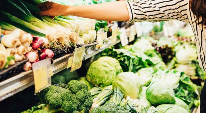 Thanksgiving veggie shopping